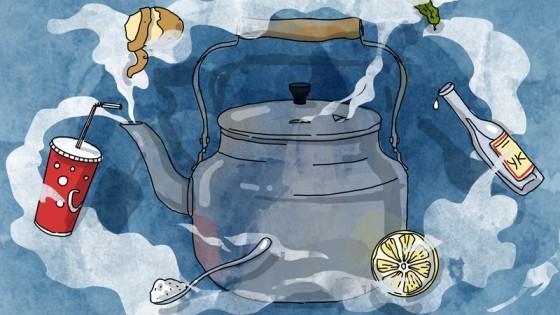 Как избавиться от накипи в чайнике?