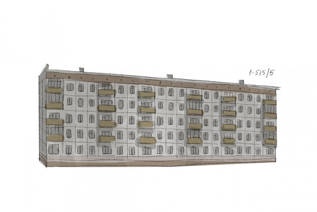 характеристика пятиэтажных домов серии 1-515 1962-1963 года постройки