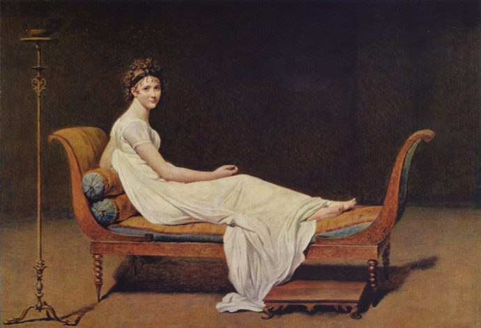 Жак - Луи Давид-Портрет мадам Рекамье