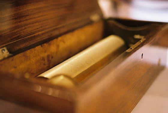Старинная музыкальная шкатулка. Photo: halfrain