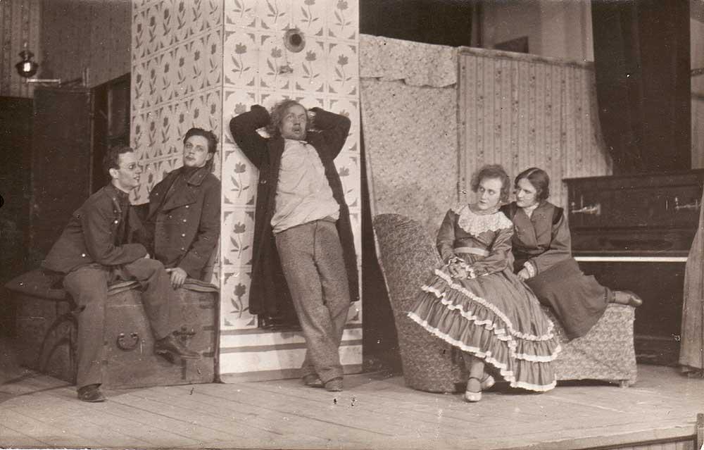 "МХАТ, пьеса М. Горького ""Мещане"" (1928 г.)"