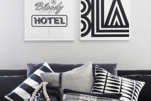 Чёрное и белое: инструкция по применению в интерьере