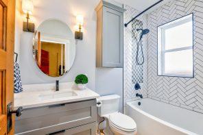 Как сделать ванную визуально больше?