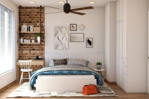 Как сэкономить место в спальне?